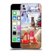 OFFICIAL THE MACNEIL STUDIO CHRISTMAS PETS Cat At Window Hard Back Case for Apple iPhone 5c (9_E_1D53D)