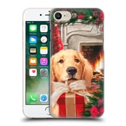OFFICIAL THE MACNEIL STUDIO CHRISTMAS PETS Red Gift Hard Back Case for Apple iPhone 7 (9_1F9_1D543)