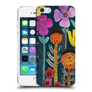 OFFICIAL SYLVIE DEMERS FLOWERS Silk Road Hard Back Case for Apple iPhone 5 / 5s / SE (9_D_1BADA)