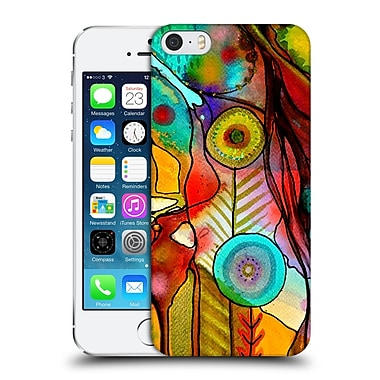 OFFICIAL SYLVIE DEMERS FLOWERS Terre D'Accueil Hard Back Case for Apple iPhone 5 / 5s / SE (9_D_1BADB)
