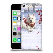 OFFICIAL THE MACNEIL STUDIO CHRISTMAS PETS Westie Fun Hard Back Case for Apple iPhone 5c (9_E_1D545)