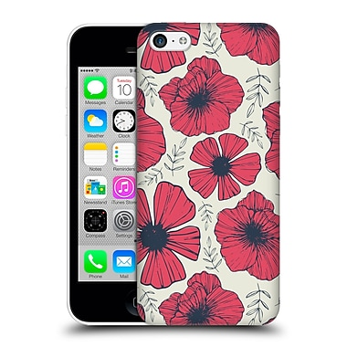 OFFICIAL TRACIE ANDREWS FLORA AND FAUNA Raspberry Hard Back Case for Apple iPhone 5c (9_E_1A6BA)
