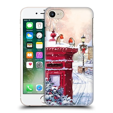 OFFICIAL THE MACNEIL STUDIO WINTER WONDERLAND Robin On Postbox Hard Back Case for Apple iPhone 7 (9_1F9_1D563)