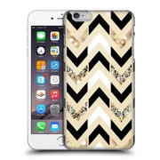 OFFICIAL TANGERINE-TANE TEXTURE & PATTERNS Gold & White Glitter Chevron Hard Back Case for Apple iPhone 6 Plus / 6s Plus