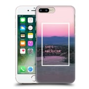 OFFICIAL THE 1975 SONGS She's American Hard Back Case for Apple iPhone 7 Plus (9_1FA_1E3BB)