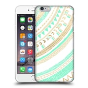 OFFICIAL TANGERINE-TANE TEXTURE & PATTERNS Mint & Gold Tribal Hard Back Case for Apple iPhone 6 Plus / 6s Plus (9_10_1E0A6)