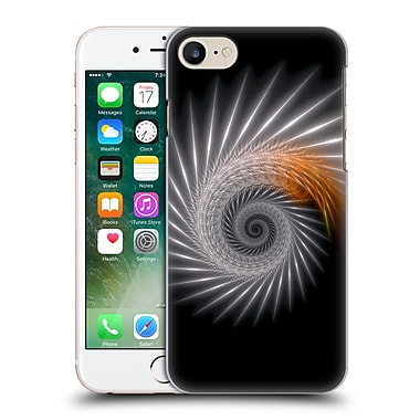 OFFICIAL SVEN FAUTH HELIX Silver Spiral Hard Back Case for Apple iPhone 7 (9_1F9_1C911)