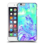 OFFICIAL TANGERINE-TANE TEXTURE & PATTERNS Melting Marble In Mint & Purple Hard Back Case for Apple iPhone 6 Plus / 6s Plus