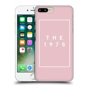 OFFICIAL THE 1975 KEY ART Logo Pink Hard Back Case for Apple iPhone 7 Plus (9_1FA_1DB4F)