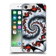 OFFICIAL SVEN FAUTH HELIX Fire & Ice Plastic Hard Back Case for Apple iPhone 7 (9_1F9_1C915)