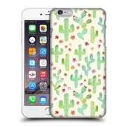 OFFICIAL TANGERINE-TANE TEXTURE & PATTERNS Watercolor Cacti Hard Back Case for Apple iPhone 6 Plus / 6s Plus (9_10_1E0AD)