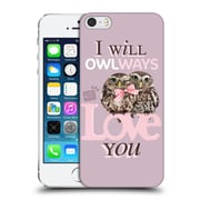 OFFICIAL STUDIO PETS QUOTES Owlways Hard Back Case for Apple iPhone 5 / 5s / SE (9_D_1DF6E)
