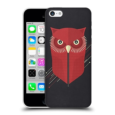 OFFICIAL TRACIE ANDREWS LANDSCAPE AND ANIMALS 2 Owl Hard Back Case for Apple iPhone 5c (9_E_1D8E9)