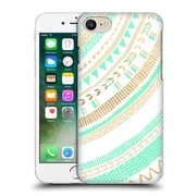 OFFICIAL TANGERINE-TANE TEXTURE & PATTERNS Mint & Gold Tribal Hard Back Case for Apple iPhone 7 (9_1F9_1E0A6)
