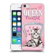 OFFICIAL STUDIO PETS QUOTES Queen Beautiful Hard Back Case for Apple iPhone 5 / 5s / SE (9_D_1DF73)