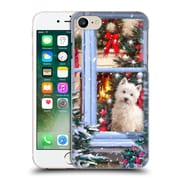 OFFICIAL THE MACNEIL STUDIO CHRISTMAS PETS Dog At Window Hard Back Case for Apple iPhone 7 (9_1F9_1D53F)