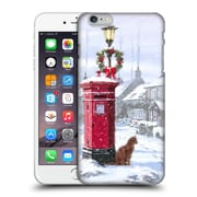 OFFICIAL THE MACNEIL STUDIO WINTER WONDERLAND Cat And Postbox Hard Back Case for Apple iPhone 6 Plus / 6s Plus (9_10_1D55E)