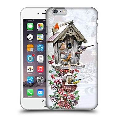 OFFICIAL THE MACNEIL STUDIO WINTER WONDERLAND Bird House 3 Hard Back Case for Apple iPhone 6 Plus / 6s Plus (9_10_1D55D)