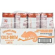 Chameleon Coffee Latte Cinnamon Dolce Cold Brew Coffee, Medium Dark Roast, 8 Oz., 12/Carton (12391989)