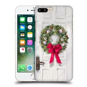 OFFICIAL THE MACNEIL STUDIO CHRISTMAS DECORS White Wreath Hard Back Case for Apple iPhone 7 Plus (9_1FA_1D539)