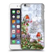 OFFICIAL THE MACNEIL STUDIO WINTER WONDERLAND Robin Hard Back Case for Apple iPhone 6 Plus / 6s Plus (9_10_1D565)