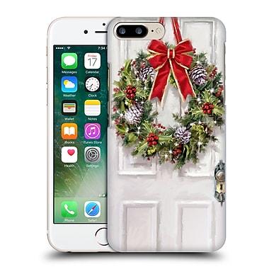 OFFICIAL THE MACNEIL STUDIO CHRISTMAS DECORS Wreath Hard Back Case for Apple iPhone 7 Plus (9_1FA_1D53C)