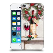 OFFICIAL THE MACNEIL STUDIO CHRISTMAS DECORS Red Wine Hard Back Case for Apple iPhone 5 / 5s / SE (9_D_1D536)