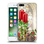 OFFICIAL THE MACNEIL STUDIO CHRISTMAS DECORS Church Candles Hard Back Case for Apple iPhone 7 Plus (9_1FA_1D531)