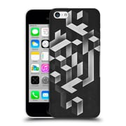 OFFICIAL SPIRES ISY Heart Grey Hard Back Case for Apple iPhone 5c (9_E_1D954)