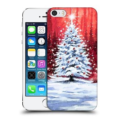 OFFICIAL THE MACNEIL STUDIO WINTER WONDERLAND Forest Tree Hard Back Case for Apple iPhone 5 / 5s / SE (9_D_1D55F)