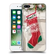 OFFICIAL THE MACNEIL STUDIO CHRISTMAS DECORS Stocking 2 Hard Back Case for Apple iPhone 7 Plus (9_1FA_1D537)