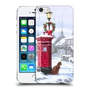 OFFICIAL THE MACNEIL STUDIO WINTER WONDERLAND Cat And Postbox Hard Back Case for Apple iPhone 5 / 5s / SE (9_D_1D55E)