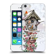OFFICIAL THE MACNEIL STUDIO WINTER WONDERLAND Bird House 3 Hard Back Case for Apple iPhone 5 / 5s / SE (9_D_1D55D)