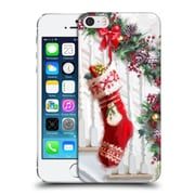 OFFICIAL THE MACNEIL STUDIO CHRISTMAS DECORS Stocking Hard Back Case for Apple iPhone 5 / 5s / SE (9_D_1D538)