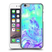 OFFICIAL TANGERINE-TANE TEXTURE & PATTERNS Melting Marble In Mint & Purple Hard Back Case for Apple iPhone 6 / 6s (9_F_1E0A5)