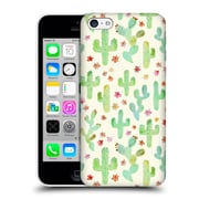 OFFICIAL TANGERINE-TANE TEXTURE & PATTERNS Watercolor Cacti Hard Back Case for Apple iPhone 5c (9_E_1E0AD)