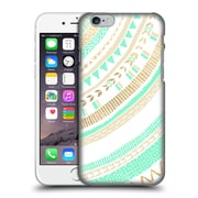 OFFICIAL TANGERINE-TANE TEXTURE & PATTERNS Mint & Gold Tribal Hard Back Case for Apple iPhone 6 / 6s (9_F_1E0A6)