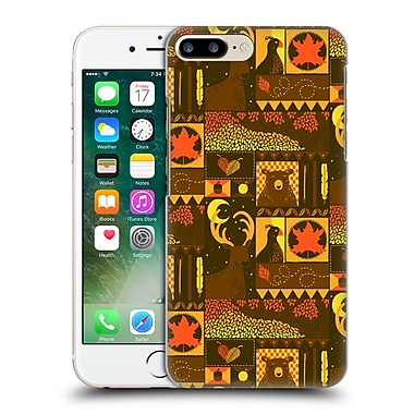 OFFICIAL TOBE FONSECA PATTERNS Fall Square Hard Back Case for Apple iPhone 7 Plus (9_1FA_1AA19)