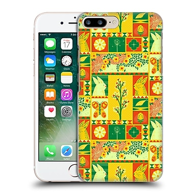 OFFICIAL TOBE FONSECA PATTERNS Spring Square Hard Back Case for Apple iPhone 7 Plus (9_1FA_1AA1A)