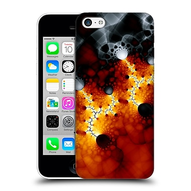 OFFICIAL SVEN FAUTH FRACTALS Lava Hard Back Case for Apple iPhone 5c (9_E_1C909)