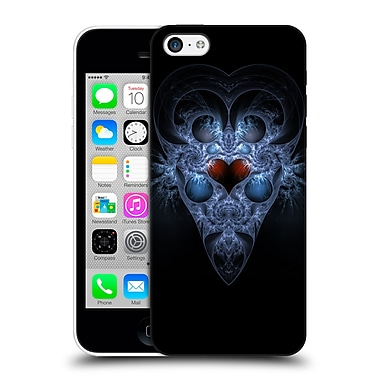 OFFICIAL SVEN FAUTH FRACTALS Frozen Heart Hard Back Case for Apple iPhone 5c (9_E_1C90A)