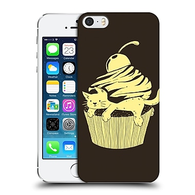 OFFICIAL TOBE FONSECA ANIMALS 2 Cupcat Cutecake Hard Back Case for Apple iPhone 5 / 5s / SE (9_D_1B521)