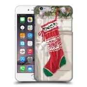 OFFICIAL THE MACNEIL STUDIO CHRISTMAS DECORS Stocking 2 Hard Back Case for Apple iPhone 6 Plus / 6s Plus (9_10_1D537)