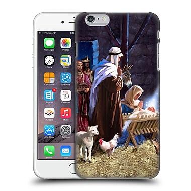 OFFICIAL THE MACNEIL STUDIO NATIVITY Jesus In A Manger Hard Back Case for Apple iPhone 6 Plus / 6s Plus (9_10_1D54D)
