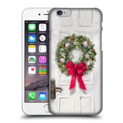 OFFICIAL THE MACNEIL STUDIO CHRISTMAS DECORS White Wreath Hard Back Case for Apple iPhone 6 / 6s (9_F_1D539)