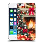 OFFICIAL THE MACNEIL STUDIO CHRISTMAS TREE Fireplace Hard Back Case for Apple iPhone 5 / 5s / SE (9_D_1D548)