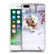 OFFICIAL THE MACNEIL STUDIO CHRISTMAS PETS Westie Fun Hard Back Case for Apple iPhone 7 Plus (9_1FA_1D545)