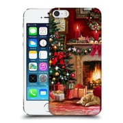 OFFICIAL THE MACNEIL STUDIO CHRISTMAS TREE Room Hard Back Case for Apple iPhone 5 / 5s / SE (9_D_1D549)