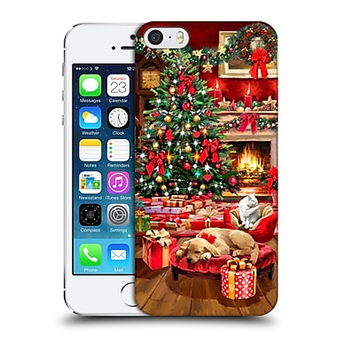OFFICIAL THE MACNEIL STUDIO CHRISTMAS TREE Interior Hard Back Case for Apple iPhone 5 / 5s / SE (9_D_1D54B)