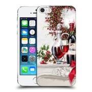 OFFICIAL THE MACNEIL STUDIO CHRISTMAS DECORS Wine Decanter Hard Back Case for Apple iPhone 5 / 5s / SE (9_D_1D53A)
